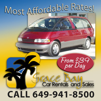 grace bay car rentals automobiles cars scooters excellent service providenciales turks caicos islands