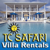 TC Safari villa rentals booking agent providenciales turks caicos islands
