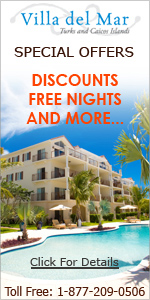 villa del mar free nights discounts grace bay beach providenciales turks caicos islands