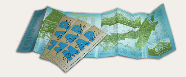 Where When How - Turks & Caicos Islands print magazine map of Providenciales (Provo).