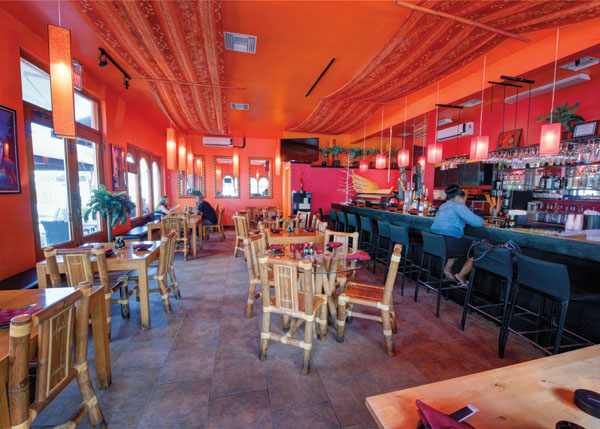 A photograph of Yoshis Sushi and Grill, Grace Bay, Providenciales (Provo), Turks and Caicos Islands, British West Indies