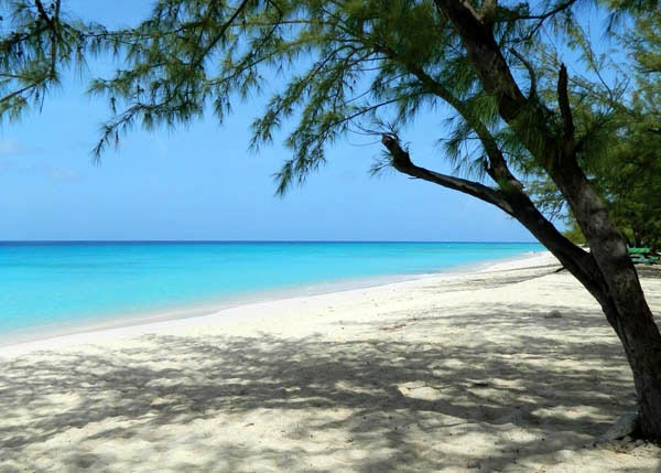 A photograph of the beautiful Governors Beach on Grand Turk, Turks and Caicos Islands, British West Indies