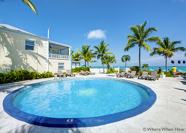 A photograph of the Sibonne, Grace Bay Beach, Providenciales (Provo), Turks and Caicos Islands.