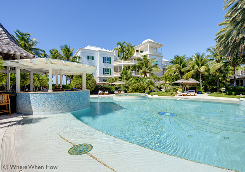 A photograph of the Point Grace Boutique Resort, Grace Bay Beach, Providenciales (Provo), Turks and Caicos Islands.