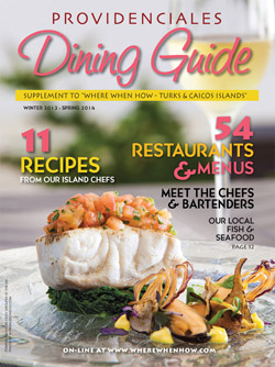 Read our 2014 issue of Providenciales Dining Guide magazine!