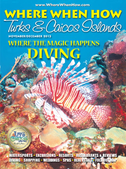 Read our November / December 2013 issue of Where When How - Turks & Caicos Islands magazine!