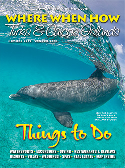 Magazine cover winter 2020 Where When How - Turks & Caicos Islands