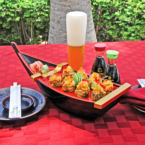 A photograph of Soyokaze at Yoshis Japanese Restaurant, Providenciales (Provo), Turks and Caicos Islands.