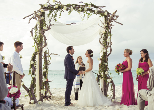 A photograph of weddings, Providenciales (Provo), Turks and Caicos Islands.