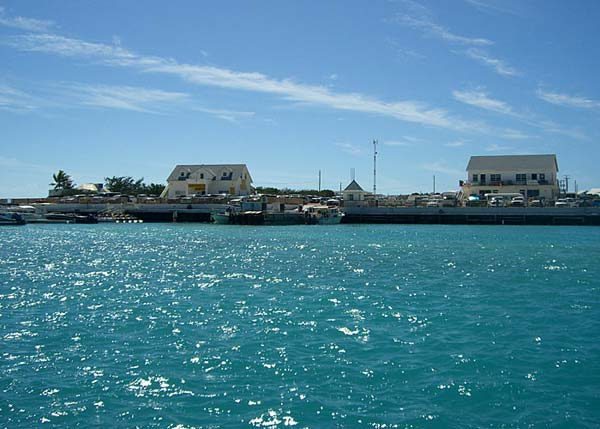 A photograph of the S. Walkin & Sons Marina & Dock, Providenciales (Provo), Turks and Caicos Islands, British West Indies