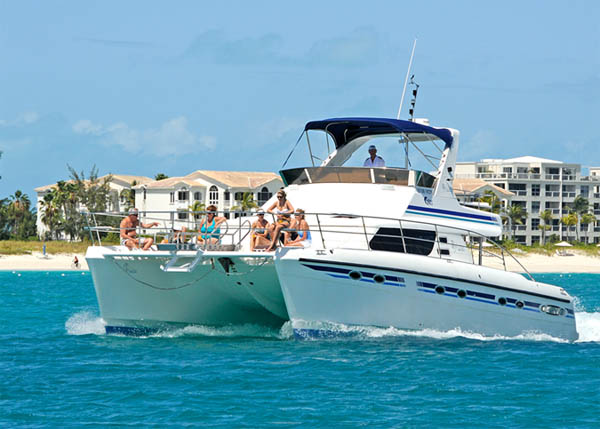 A photograph of the Caribbean Cruisin', Providenciales (Provo), Turks and Caicos Islands