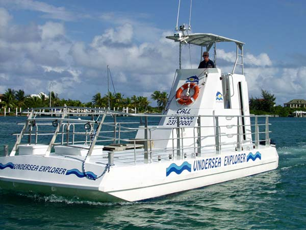 A photograph of Caicos Tours Undersea Explorer, Providenciales (Provo), Turks and Caicos Islands