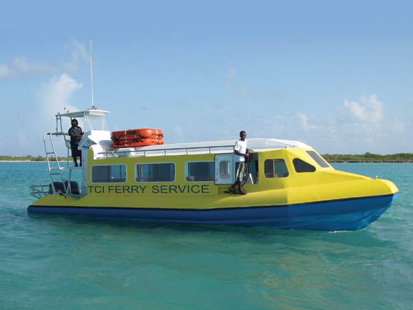 A photograph of the TCI Ferry Service, Providenciales (Provo), Turks and Caicos Islands