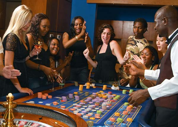 A photograph of The Casablanca Casino, Providenciales (Provo), Turks and Caicos Islands, British West Indies