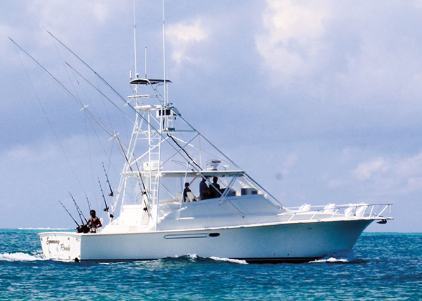 A photograph of Grand Slam Deep Sea Fishing Charters aboard Angler Management, Providenciales (Provo), Turks and Caicos Islands