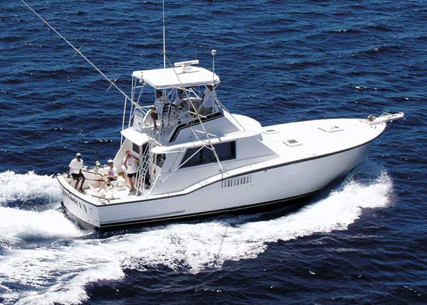 A photograph of Grand Slam Deep Sea Fishing Charters aboard Gwendolyn, Providenciales (Provo), Turks and Caicos Islands