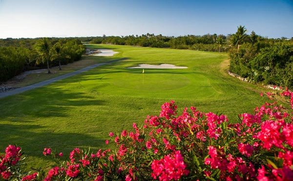 A photograph of the 18 hole course at Provo Golf Club, Providenciales (Provo), Turks and Caicos Islands, British West Indies