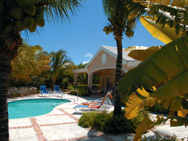 A photograph of Acacia Villa, Leeward, Providenciales (Provo), Turks and Caicos Islands, British West Indies