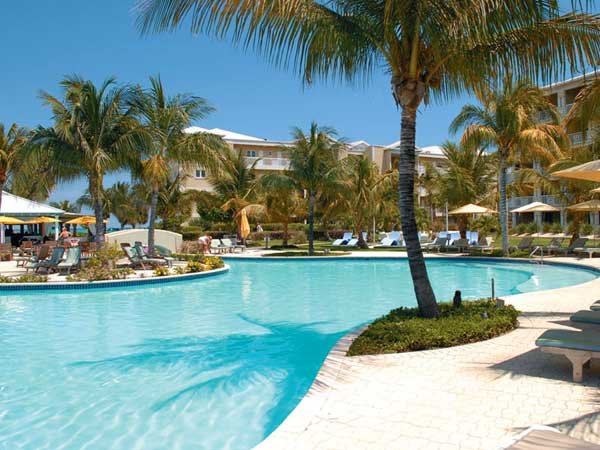 A photograph of The Alexandra Resort, Grace Bay Beach, Providenciales (Provo), Turks and Caicos Islands, British West Indies