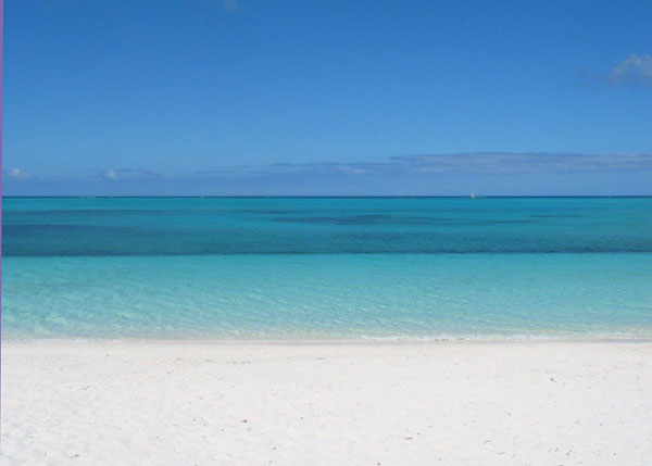 A photograph of Aquamarine Beach Houses, Grace Bay Beach, Providenciales (Provo), Turks and Caicos Islands, British West Indies
