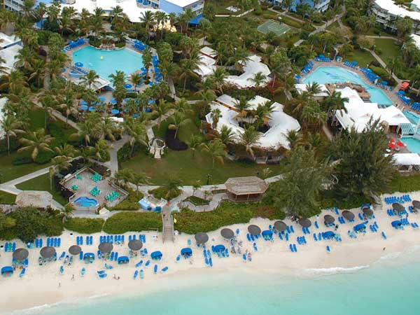 A photograph of Beaches Resort & Spa, Grace Bay Beach, Providenciales (Provo), Turks and Caicos Islands, British West Indies