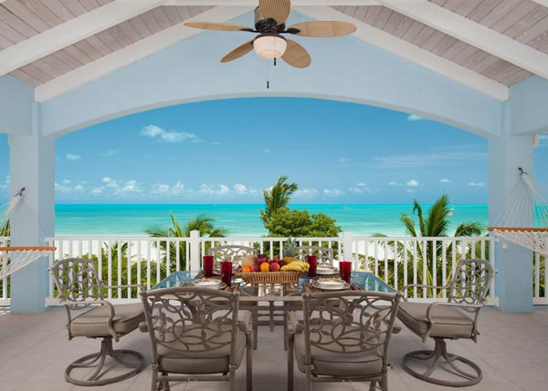 A photograph of Crystal Sands Villa, Sapodilla Bay, Providenciales (Provo), Turks and Caicos Islands, British West Indies