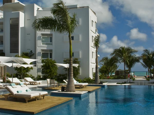 A photograph of the Gansevoort Turks + Caicos, Grace Bay Beach, Providenciales (Provo), Turks and Caicos Islands, British West Indies