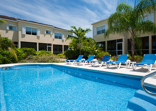 A photograph of Grace Bay Townhomes, Providenciales (Provo), Turks and Caicos Islands, British West Indies