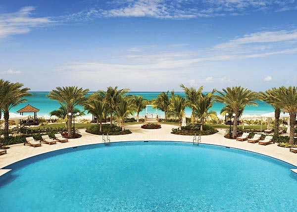 A photograph of the Seven Stars Resort & Spa, Grace Bay Beach, Providenciales (Provo), Turks and Caicos Islands, British West Indies