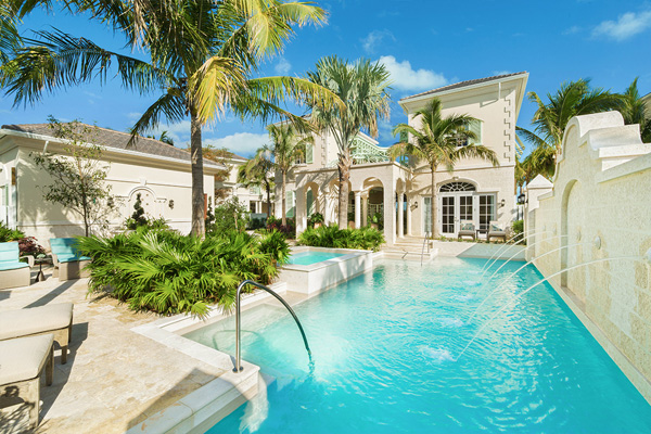 A photograph of The Shore Club Villas, Long Bay Beach, Providenciales (Provo), Turks and Caicos Islands, British West Indies