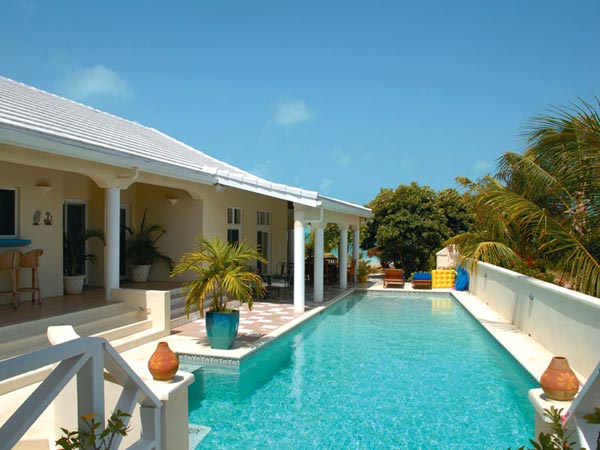 A photograph of Villa Oceana, Sapodilla Bay Beach, Providenciales (Provo), Turks and Caicos Islands, British West Indies