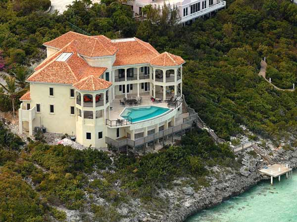 A photograph of Villa Palmera, Providenciales (Provo), Turks and Caicos Islands, British West Indies