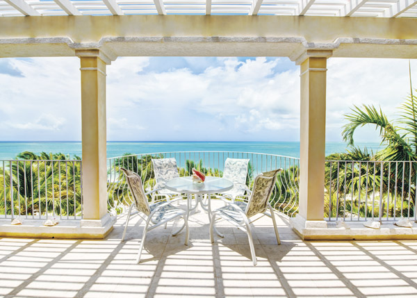 A photograph of Villa Renaissance Beach Resort, Grace Bay Beach, Providenciales (Provo), Turks and Caicos Islands, British West Indies