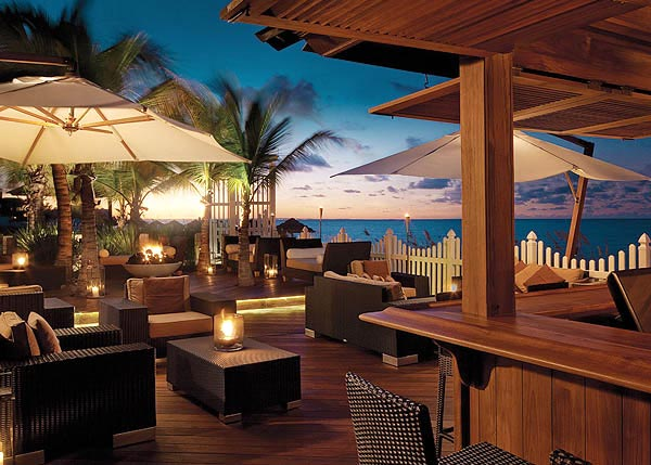 A photograph of The Deck at Seven Stars Resort, Providenciales (Provo), Turks and Caicos Islands.