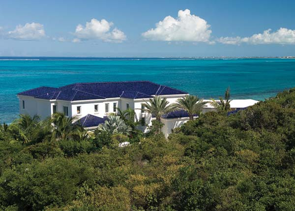 A photograph of the Villas at Blue Mountain, Providenciales (Provo), Turks and Caicos Islands, British West Indies