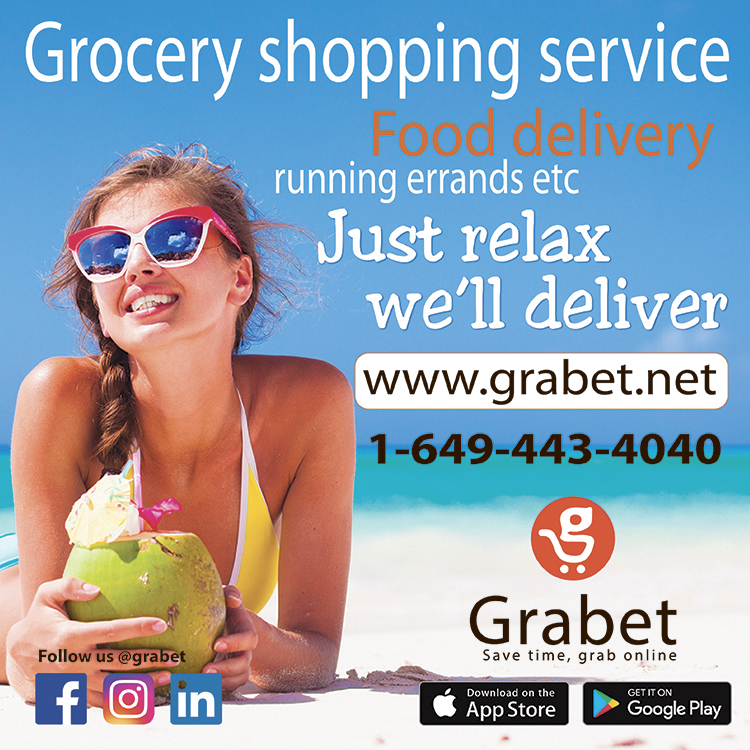 grabet grocery shopping carry out delivery providenciales turks caicos islands