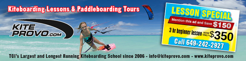 Kiteboarding Provo, Long Bay, Providenciales, Turks and Caicos Islands