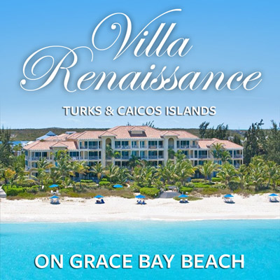 Villa Renaissance, Grace Bay Beach, Providenciales, Turks and Caicos Islands