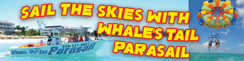 Whales Tail Parasail, Grace Bay, Providenciales, Turks and Caicos Islands