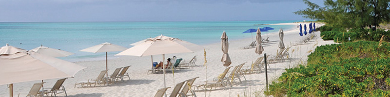 grace bay beach providenciales turks caicos islands
