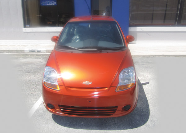 A photograph of Budget Car Rental, Providenciales, Turks and Caicos Islands