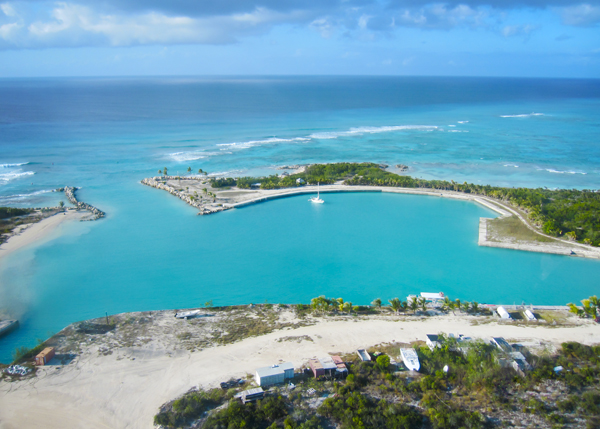 A photograph of West Caicos, Turks and Caicos Islands, British West Indies